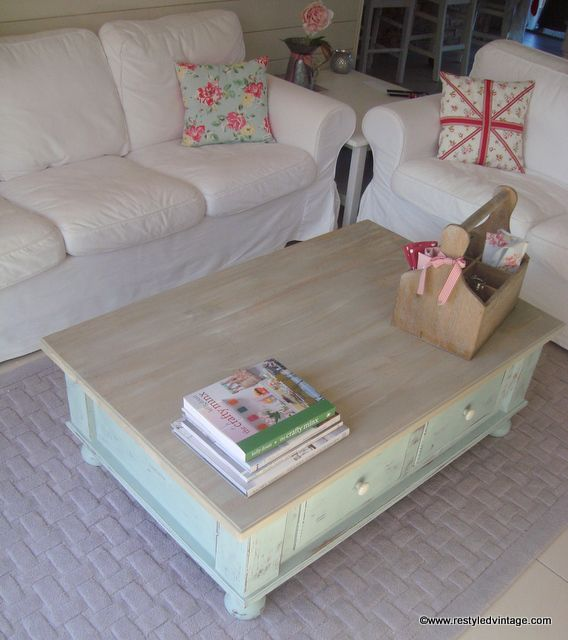 French Linen Chalk Paint Coffee Table: 363 Best Images About Annie Sloan Painted Furniture Ideas