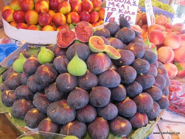 Ripe Figs, Kapani Market, Thessaloniki