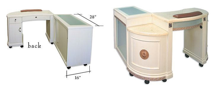 Ventilation Requirements For Nail Salons : Best images about manicure tables on pinterest