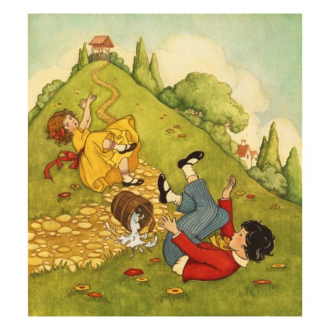 1000 Images About Jack And Jill Illustrations On