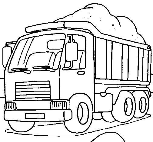 Resultado de imagem para os mais belos desenhos de carros e caminhoes para colorir