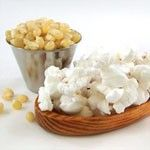 "This Super Premium Gourmet Hulless #Popcorn is tender, white, and virtually hulless. It's also amazingly delicious.  Virtually Hulless = few hulls compared to ""regular"" popcorn."