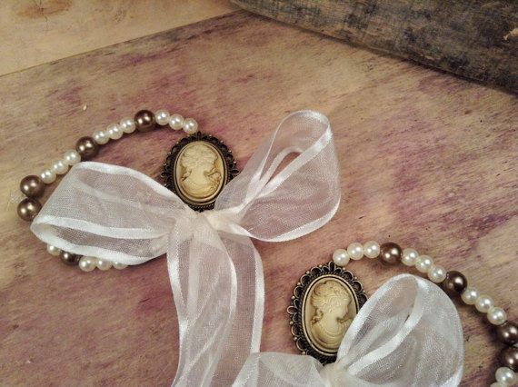 Bachelorette Bracelets 10pcs-Victorian Woman Bracelets- Wedding Bracelet- Cameo Bracelet- Wedding Favors-Bridesmaids Gift