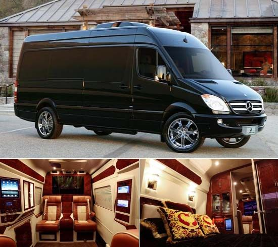38 best images about conversion vans on pinterest for Luxury mercedes benz sprinter