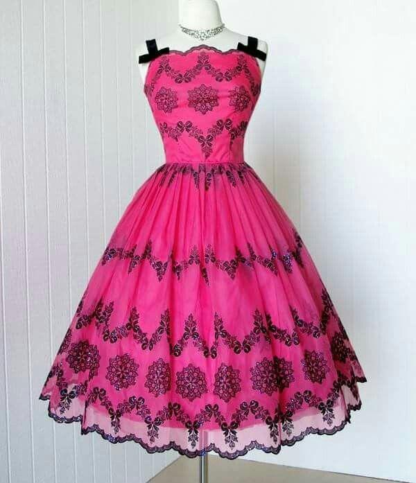 Mejores 372 imágenes de 50\'s/60\'s Fashions en Pinterest | Vestidos ...