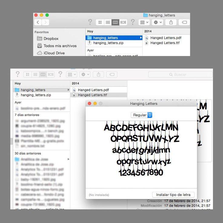 Cómo Instalar Fuentes en Windows y Mac