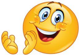 clapping emoticon sticker