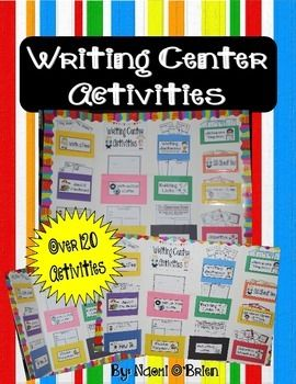 This product is exactly what you need to spruce up your writing center, impress your administrators, and get your students interested in writing!This fun and creative addition to your classroom is sure to have your students begging to go to the writing center all year long!Includes labels to decorate the pockets for the writing activity sheets, prompts, and activities such as:Building ListsAll About MeOnce Upon a TimeScience TopicsWriting and Mailing a LetterSending PostcardsReader…