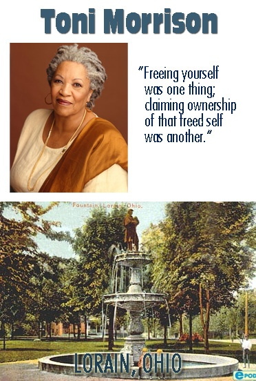 a description of toni morrison born in lorain ohio Astrology birth chart for toni morrison, born at  lorain, ohio, united states  how to read your chart description image credit artist : entheta credit .