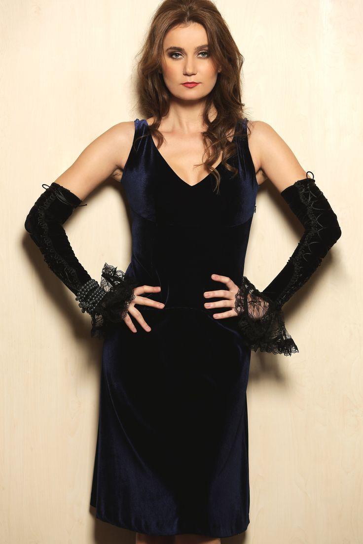 Wear it now, wear it later: VELVET YOKKO | fall 16  #velvet #fall16 #dresses #blue #evening #day #yokko #fashion #style #women