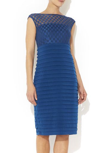 Teal Square Shutter Dress #MyChristmasStory