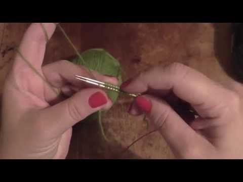 Kurz pletení ponožek na jedné kruhové jehlici od špičky (3. díl) Knitting socks - YouTube