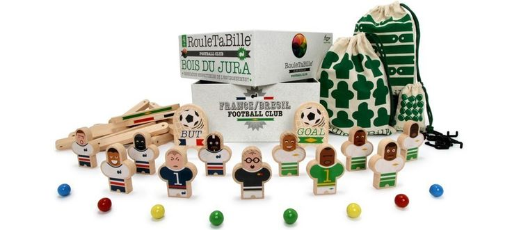 Can't make it to the World Cup Brazil 2014? Well thanks to those fine folk at Les Jouets Libres you don't have to...Roulletabille: Football Club
