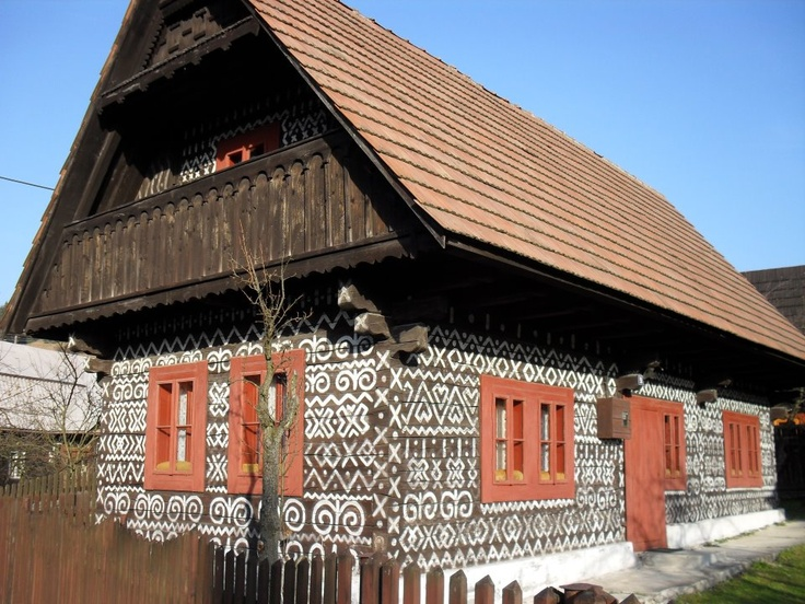 Čičmany, Slovensko