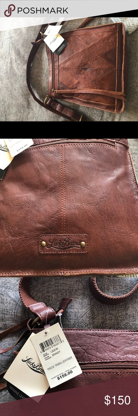 Lucky Brand leather cross body purse Cross body all leather Lucky Brand purse Lucky Brand Bags Crossbody Bags