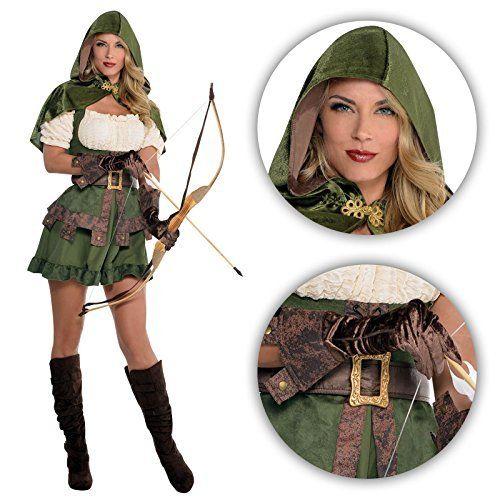 Ladies Robin Hood Costume Medieval Vigilante Elf Elven Archer Maid Marion Peter Pan Fancy Dress Fairytale Prince of Thieves, http://www.amazon.co.uk/dp/B01E3VIZ9O/ref=cm_sw_r_pi_awdl_c8ttxbMZ9NT2Z