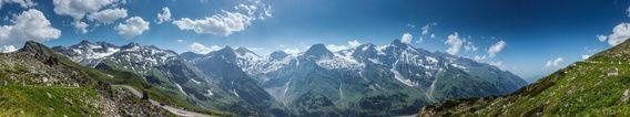 Nieuw in mijn Werk aan de Muur shop: Berglandschap van het Gro�glockner massief, Hohe Tauern, Oostenrijk