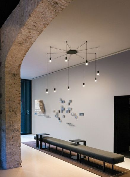 LED pendant #lamp WIREFLOW by Vibia | #design Arik Levy @vibialight
