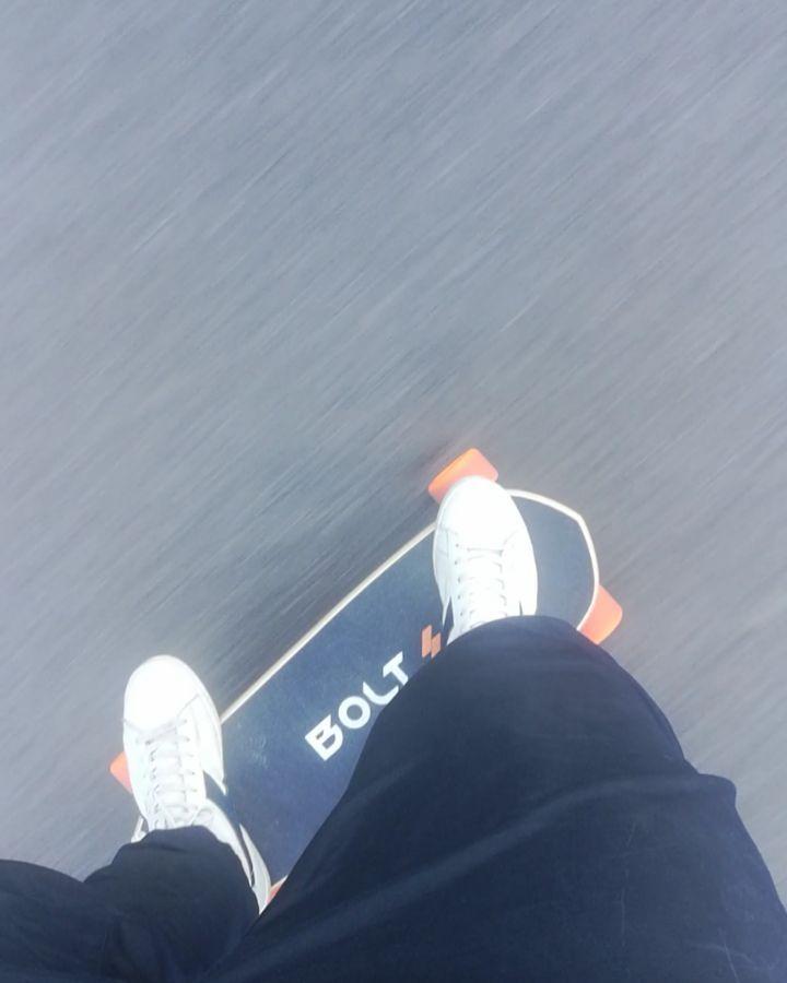 Travelling around the city. Distance: 134 km (833 miles) Time: 44 minutes Avg speed: 17 kph #bolt #boltmotion #electric #skate #ride #loveskateboarding #skatelife #skateboard #sk8 #gogreen #skatepark #skategram #skateboarding #skatespot #commuter #skating #skateboarder  #skateboardingisfun #commute #publictransportation #electricvehicle #electricskateboard #ev #cleanenergy #skateboards #skateaholic #skateeverydamnday #everyday