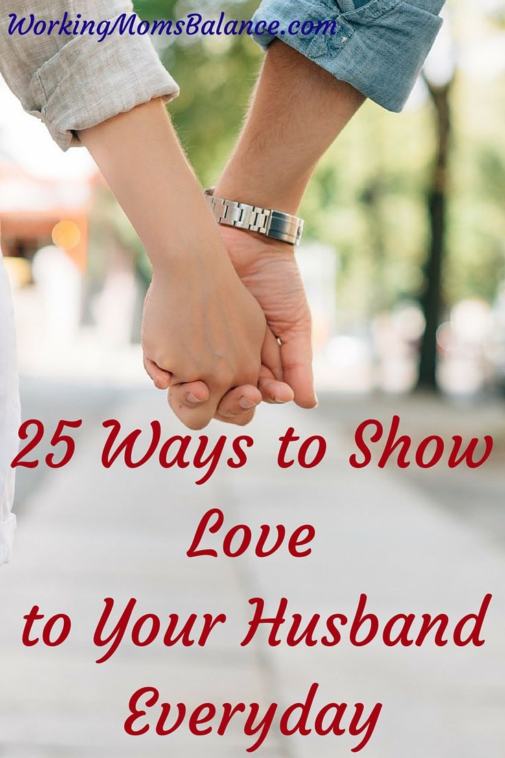 You love your husband like crazy, but life is crazy and hectic, and sometimes, our husbands get pushed to the backburner. Marriage should be a top priority, here are 25 ways to make sure your attention and love stays on your husband so he can truly feel loved by you.