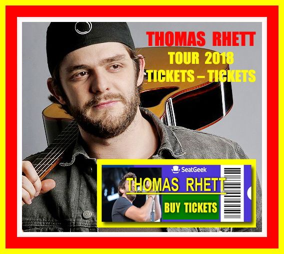 Thomas Rhett - The easiest way to buy concert tickets (seller – SeatGeek).  Tour 2018 - Tickets and Tour Schedule. Country Music Concert