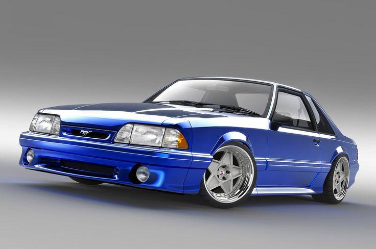Body Coupe Black Wheels Chrome Fox