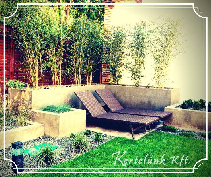 Még egy csodálatos modern kerti alkotás :)