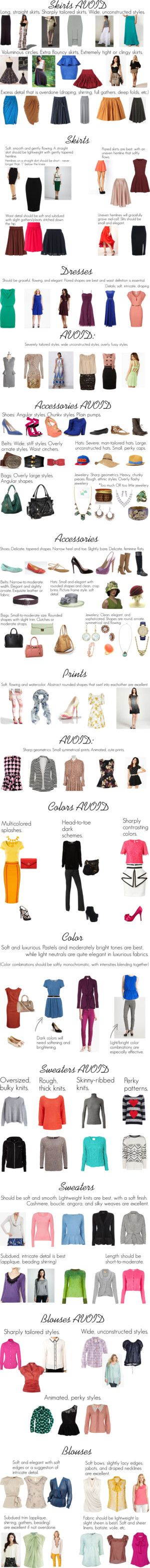 """""""SC Guidelines"""" by oscillate on Polyvore... Great for finding silhouettes that work for al!"""
