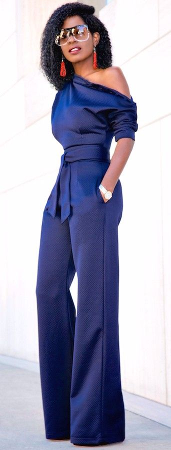 A basic jumpsuit that belongs in every closet on earth. Maybe every closet on Mars, too.