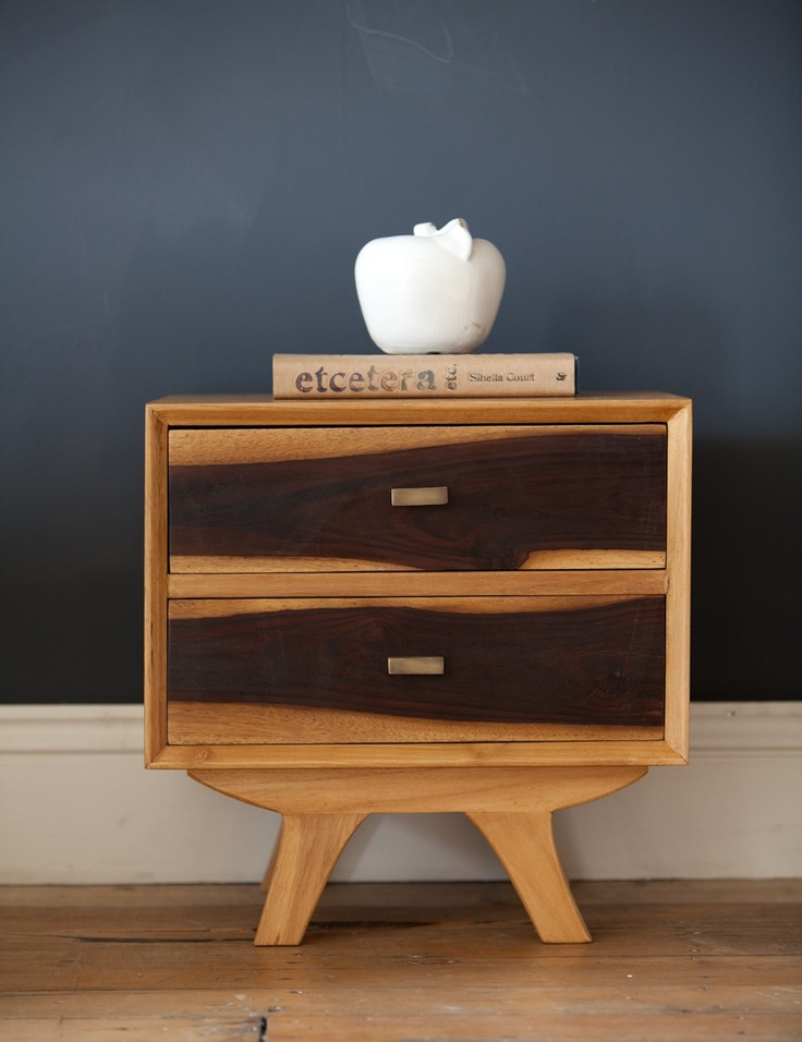 The Hudson Bedside Cabinet has a reassuringly