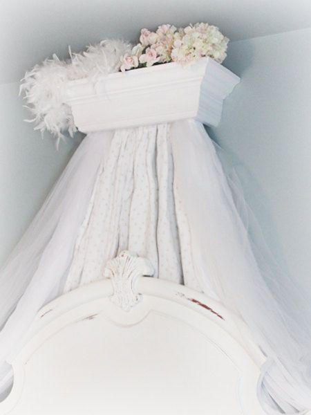 Beautiful Custom Built Bed Crown Cornice Canopy The