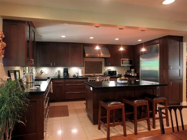 Photo of Brown Kitchen project in Salt Lake City, UT by Renovation Design Group