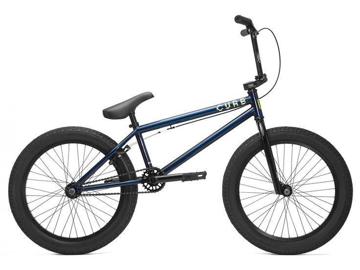 "Kink Bikes ""Curb"" 2017 BMX Bike - Gloss Shelby Blue | kunstform BMX Shop & Mailorder - worldwide shipping"