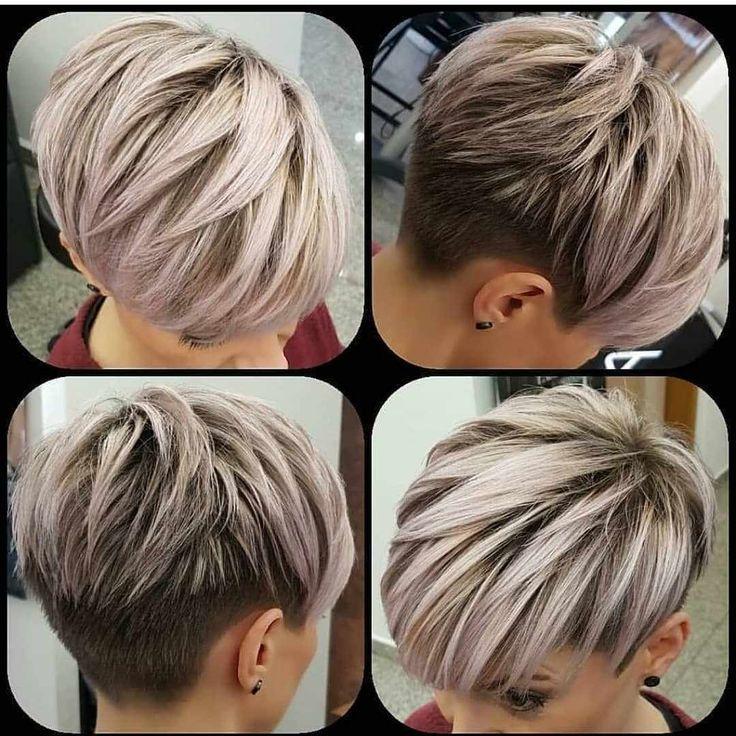 Nouvelles coupes de cheveux pour femmes 2019 – # Haircuts #pixie #Women   – makeup