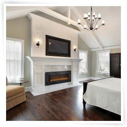 Best 25+ Large electric fireplace ideas on Pinterest | Living room ...