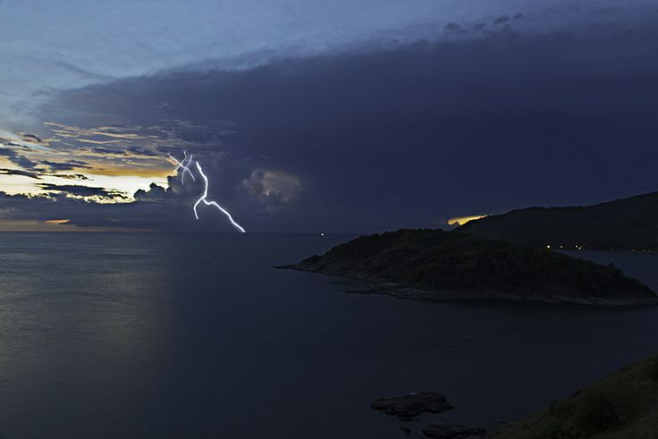 Andaman Sea Storm