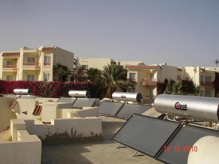 Το ξενοδοχείο Hilton στην Αίγυπτο επέλεξε ηλιακούς θερμοσίφωνες Calpak