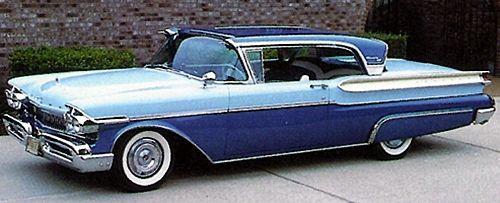 1957 Mercury Turnpike Cruiser 2-Door Hardtop