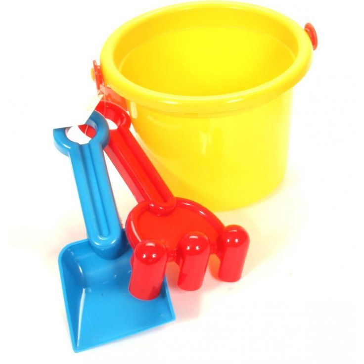 Sand buckets with shovels from wholesale and import