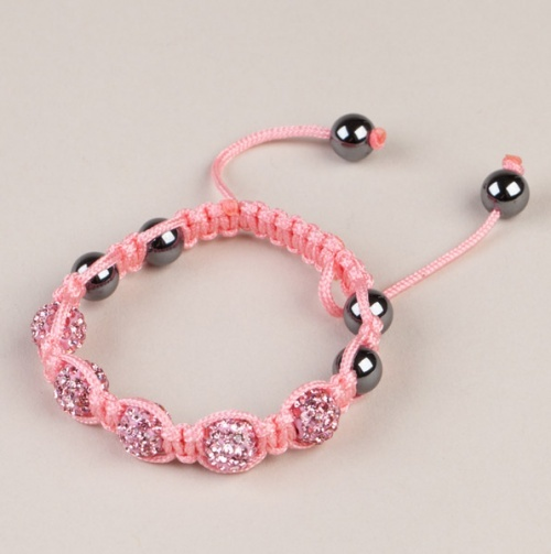 Shamballa Style Macrame Friendship Bracelets -- for them