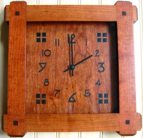 13 Best Images About Mission Style Clocks On Pinterest