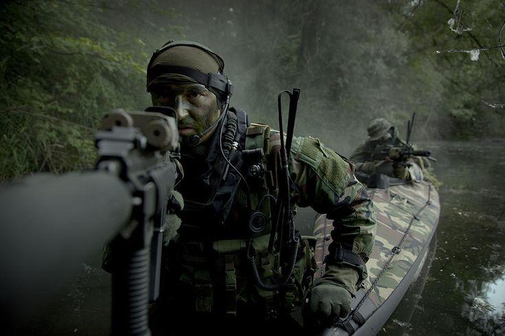 SEALs Woodland assault training