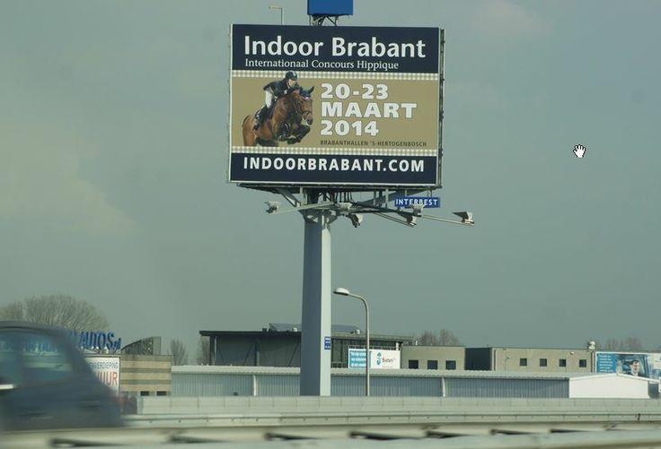 Indoor Brabant groots langs de A2 Utrecht -> Den Bosch