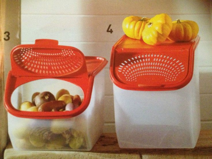 Genuine Tupperware Aussie Seller  VEG OUT Large & Small SET - BLACK COLOR ONLY!