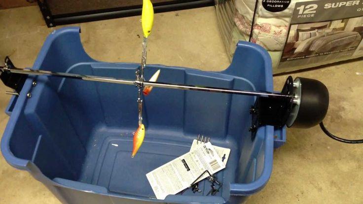 Homemade Fishing Lure Dryer                              …
