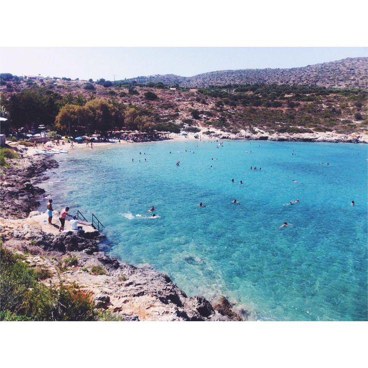 Summer vibes.. ☀️☀️☀️ #vacation #summer #photography #beach #greece #crete #fashionblogger #talkingaboutf