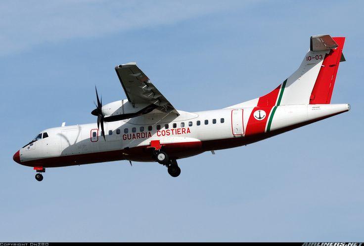Italy - Guardia Costiera MM62270 ATR ATR-42-500 aircraft picture