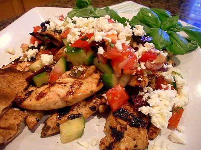 ... greek on Pinterest | Grilled chicken recipes, Greek salad and Chicken