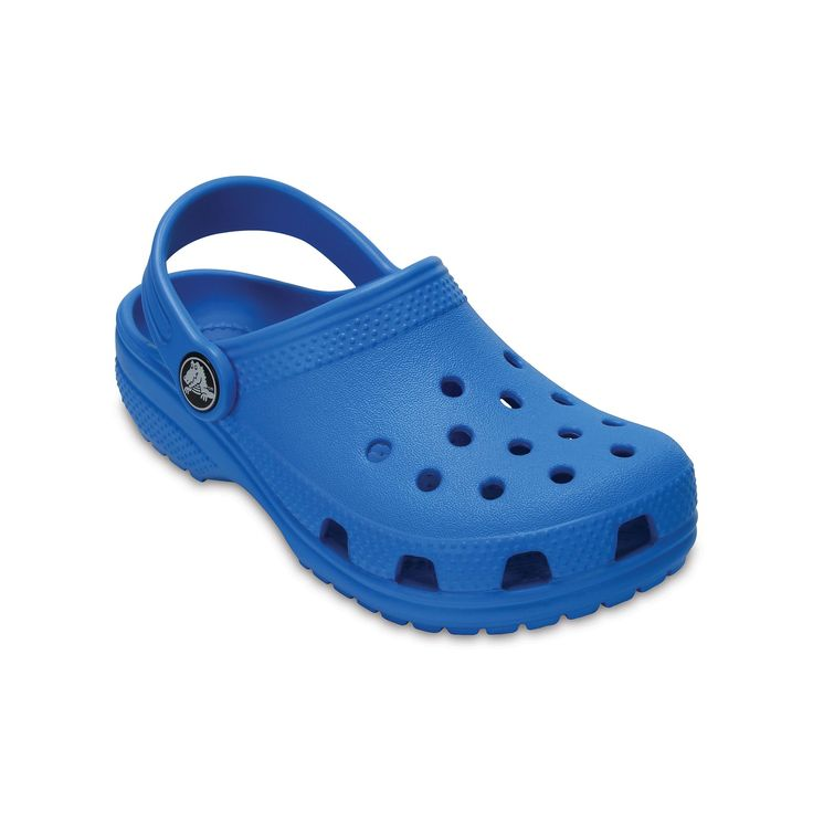 Crocs Classic Kid's Clogs, Size: 10 T, Light Blue