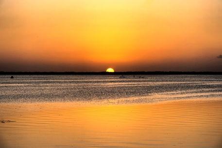 'Sunset at Keys Islands (Florida)' by Pier Giorgio  Mariani on artflakes.com as poster or art print $16.63 #sunset #florida #keys #miami #tropic